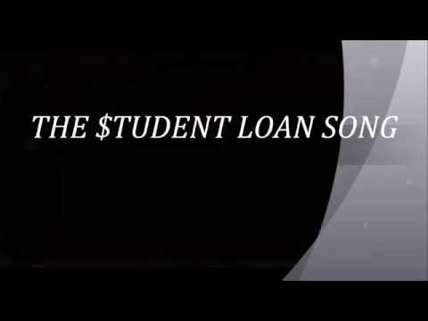 THE STUDENT LOAN SONG words lyrics popular trending DEBT Financial Aid sing along song songs