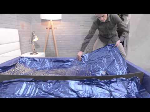 opbouw waterbed split match