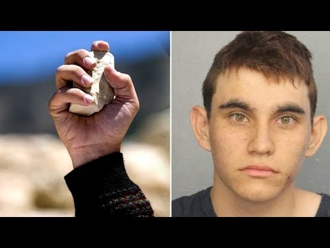 Arm Students With ROCKS Against School Shooters