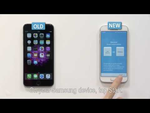 Samsung Smart Switch | How To: iOS to Galaxy using iCloud