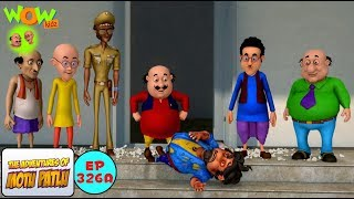 Bure Kaam Ka Bura Nateeja - Motu Patlu In Hindi - 3D Animation Cartoon - As On Nickelodeon
