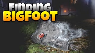 Finding Bigfoot - Hunter Traps and Captures Bigfoot! - Let