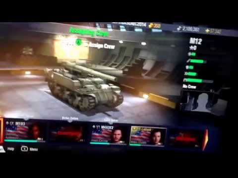 Unlocking the USA Tier VII M12 Artillery Tank on World of Tans Xbox 360 Edition on 5/1/15