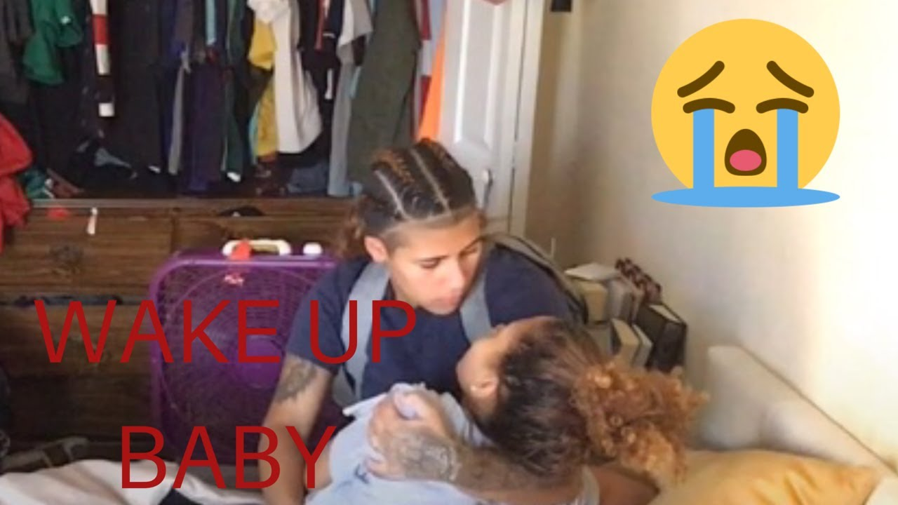 NOT WAKING UP PRANK ON GF SHE IS TERRIBLE!!!