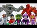 Teen Titans Go Lava Golem amp Stone Monster Are Making Troubles ToyMartTV