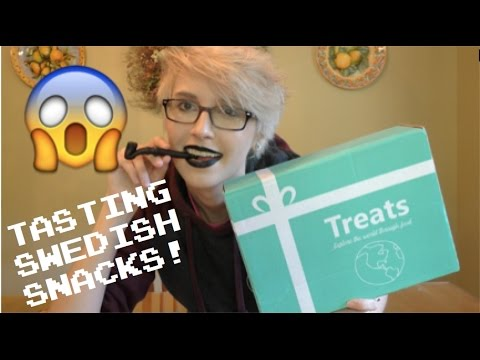 Treats Unboxing // First time tasting black licorice?!