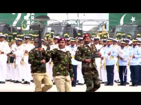 Pakistan Day Prade: SSG, SSW and PAF Special service group