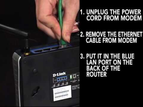 D-Link Router Setup Video