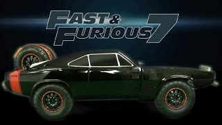 Fast and Furious 7 Dom's '70 Dodge Charger R/C from Jada Toys