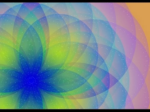 Create a Multi Layer Dimensional Flower in Illustrator - how to blend translucent objects