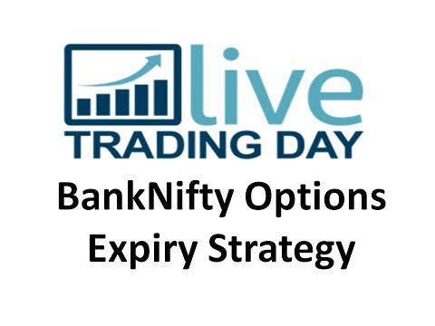 Live Trading-Bank Nifty Options Expiry Strategy - Full Trading system for beginners, working people