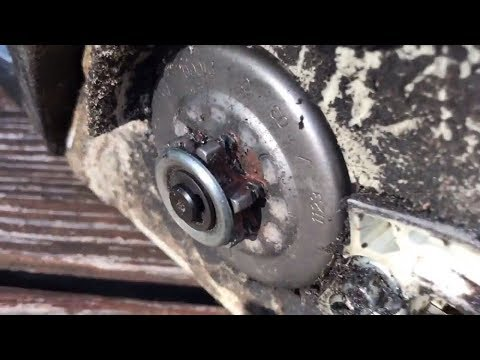 How to replace chainsaw sprocket Stihl ms211