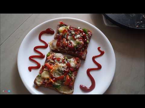 Bread Pizza Recipe in Microwave Oven   Pizza Recipe by Attamma TV