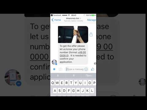 Facebook Messenger Chatbot For Lead Generation (for fitness-centers)