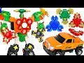 Hello Carbot Spinnable With Fidget Spinners Transform DuDuPopTOY