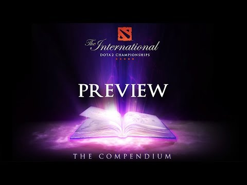 Dota 2 - TI4 Compendium Preview