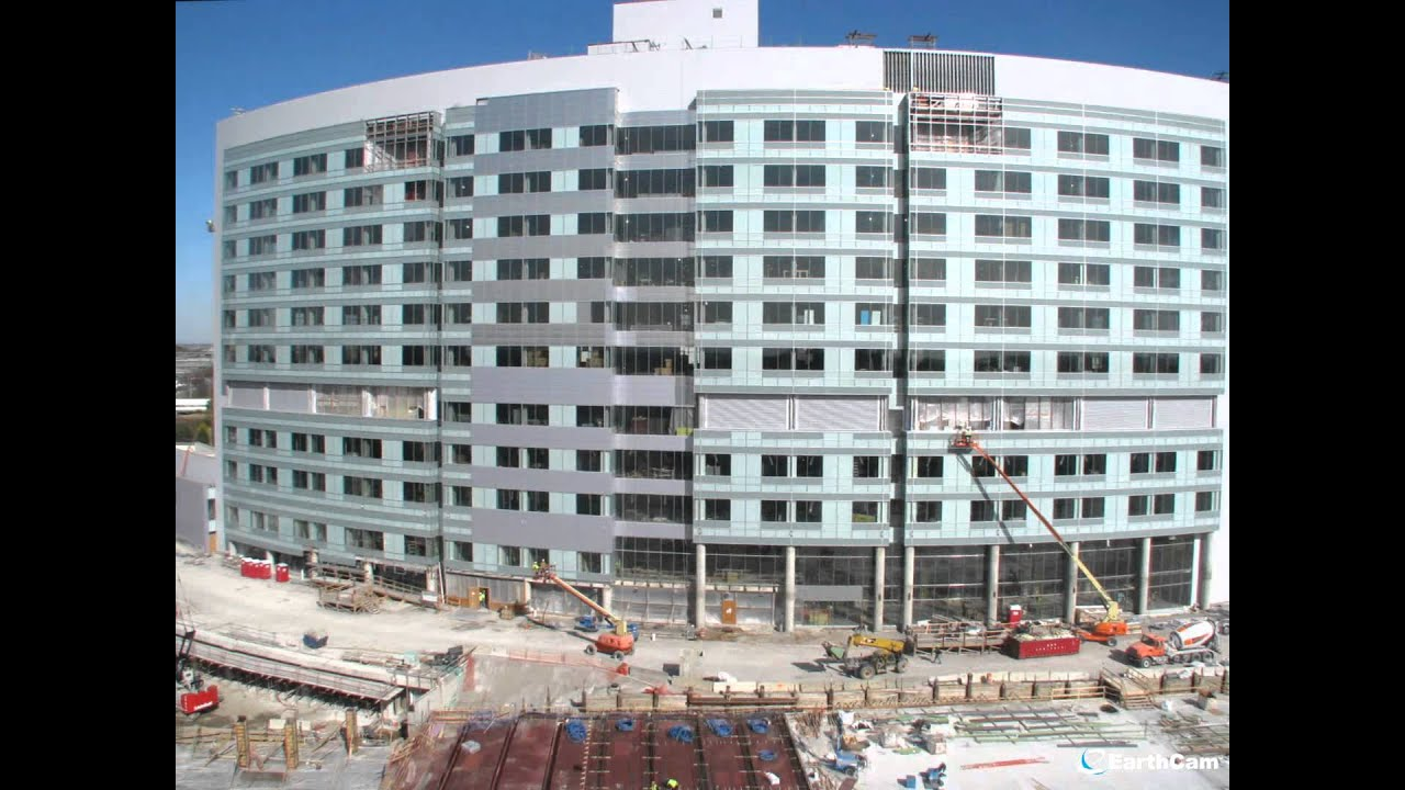 New Hospital Construction Time Lapse