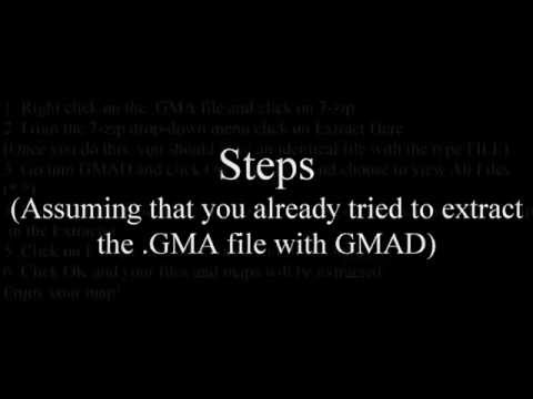 Tutorial: A Solution to GMAD Extractor ''Specific Archive is Invalid'' Error (Garry's Mod)