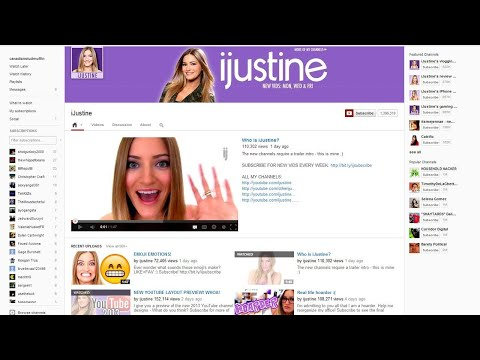 New YouTube Layout 2013 Review