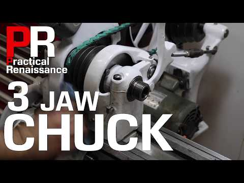 Attaching a 3 Jaw Chuck to the South Bend 9a Lathe