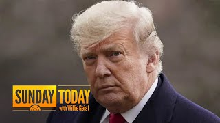 Chuck Todd: Trump Should Resign For Best Legal Protection | Sunday TODAY