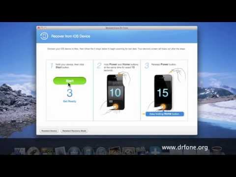 How to recover lost Notes from iPhone4 without itunes backup on Mac