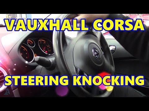 Vauxhall Corsa D Steering Knocking