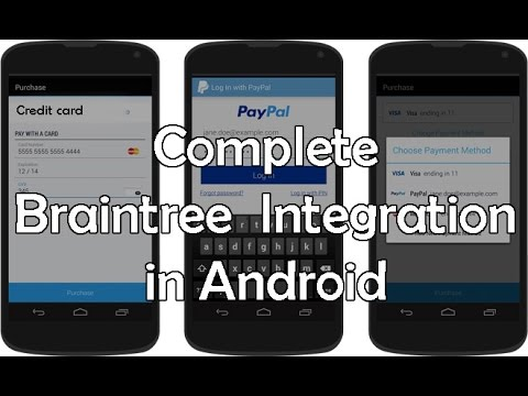 Braintree Integration in Android Tutorial with Example