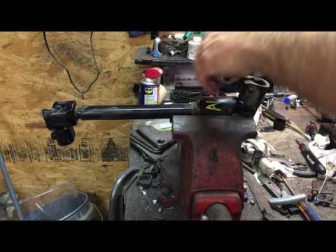 S10 Jeep steering shaft upgrade