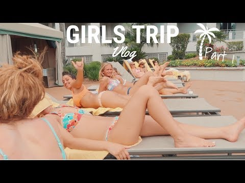 GIRLS TRIP VLOG | The real us in Hilton Head Part 1
