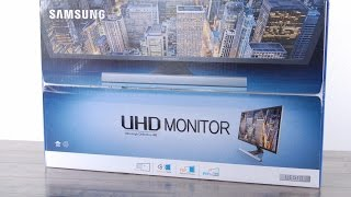 Samsung 4K UHD 28 Inch UE510 Unboxing / Review