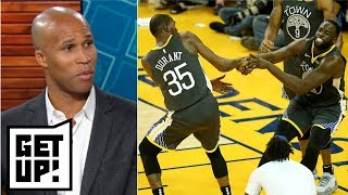 Draymond Green suspension all about Kevin Durant's looming free agency?  | Get Up!