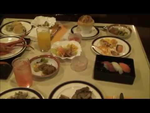 Dinner in Prince Hotel Tokyo