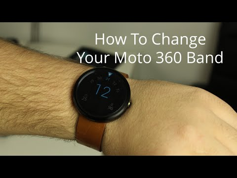 How To Change Your Moto 360 Band