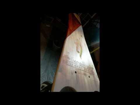 PLONGEOIR Creation of solid wood diving board 1
