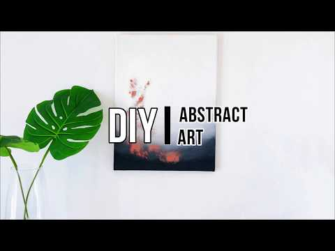 DIY DECOR | Abstract Art