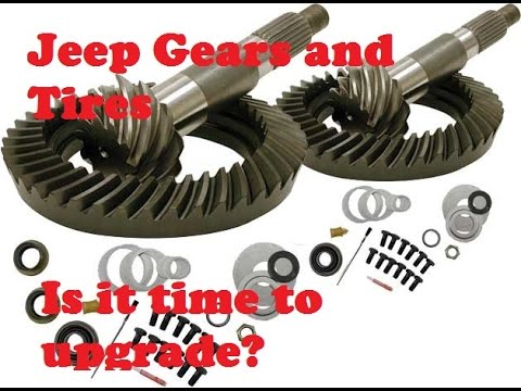 Are you Ready to Re Gear? Jeep Gearing and Tire Information
