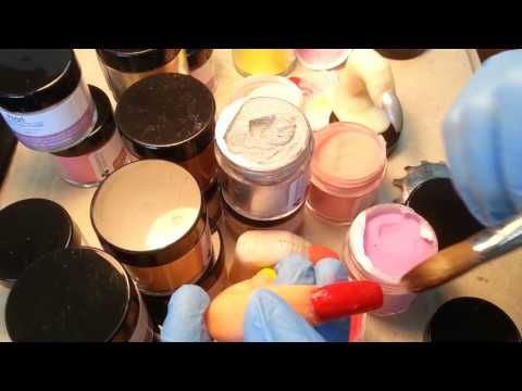 How Pretty Easy 20 Color of Acrylic Powder.