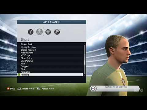 FIFA 2014 - Create Player [HD]