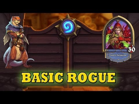 Hearthstone Deck Guide - Starter Rogue (Basic Cards Only)
