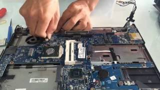 HP ELITEBOOK 8440P take apart video, disassemble, how to