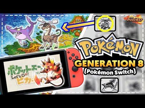 NEW UNSEEN POKEMON REVEALED! Links to Pokémon Let's Go Pikachu/Let's Go Eevee?! (Pokémon Switch)