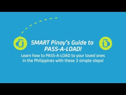 SMART Pinoy Guide to PASS-A-LOAD to the Philippines