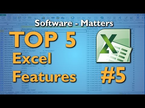 Left, Right, Mid and Trim Excel Functions - Top 5 Excel Features #5