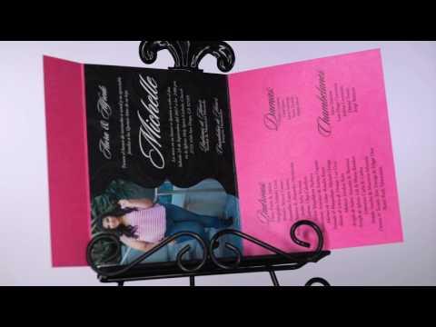 Fantasy Quinceañera Invitations Q31