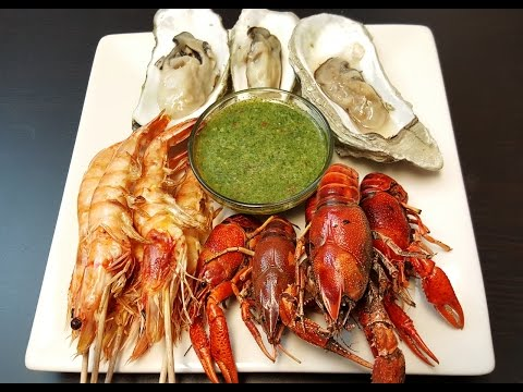 Seafood Dipping Sauce, Thai Green Fish Sauce (ទឹកច្រលុកម្ហូបគ្រឿងសមុទ្រ) khmer food, cambodian food