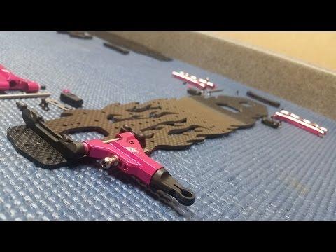 3Racing Sakura D4 AWD Build - Control Arms Install - PT1
