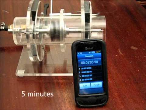 Tesla Turbine with Magnetic Bearings