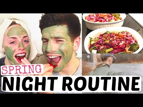 MARRIED COUPLE SPRING NIGHT ROUTINE 2017