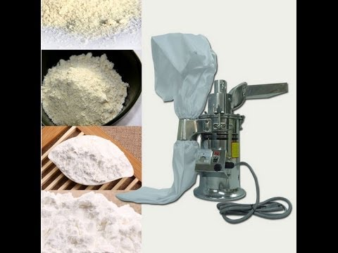 20kg/h Automatic desktop continuous Hammer Mill Herb Grinder, pulverizer